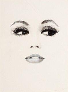 236x319 Eyes, Nose And Lips Pencil Drawing Tutorial. Como Cuando Quedan