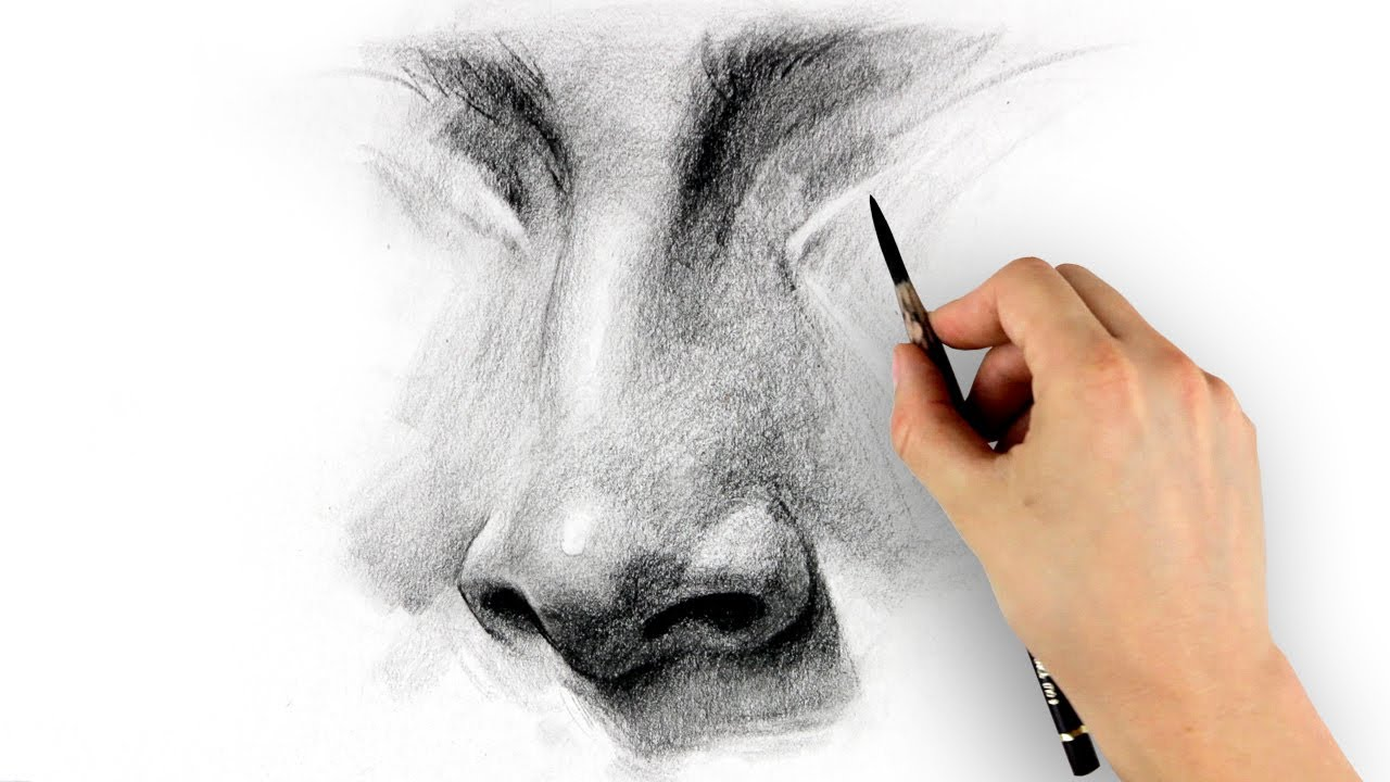 1280x720 How To Draw A Nose