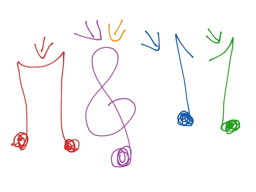 1024x768 How To Draw A Music Note Music, Drawing, Musica And Drawing