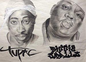 300x218 Notorious Big Drawings Fine Art America