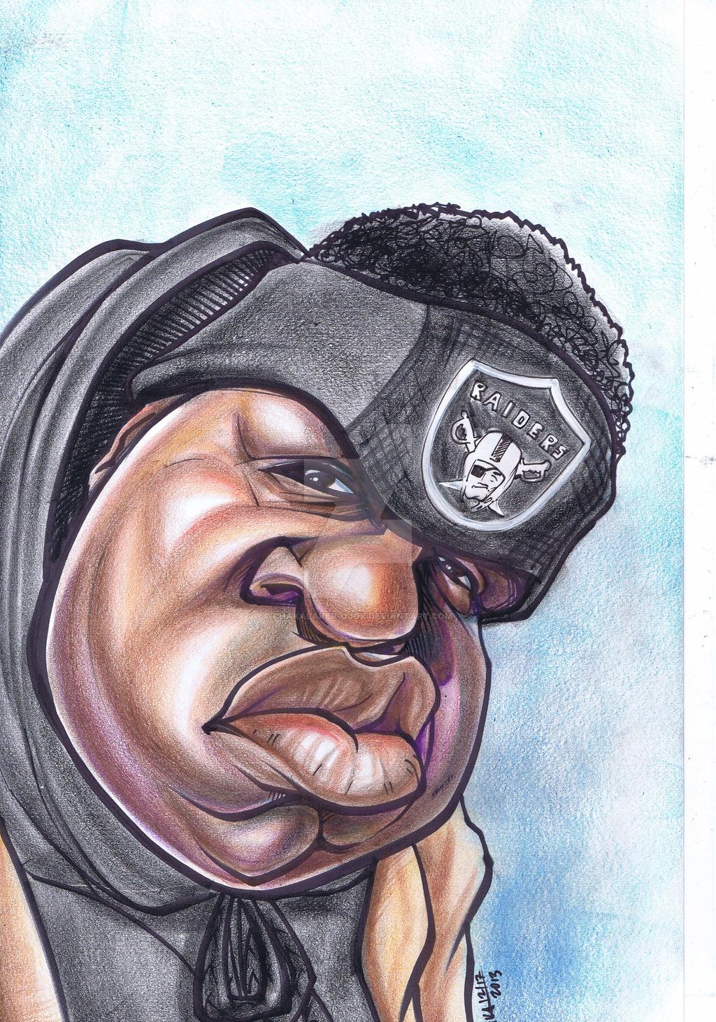 1024x1462 The Notorious B.i.g [Caricature] By Chakalaker Ojok