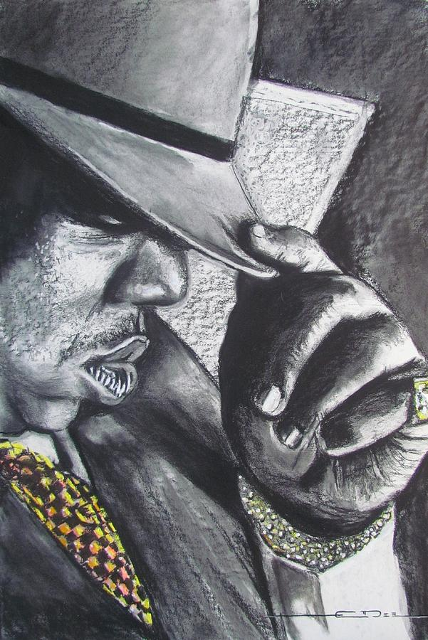 601x900 The Notorious B.i.g. Drawing By Eric Dee