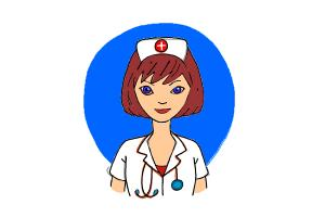 300x200 How To Draw A Nurse