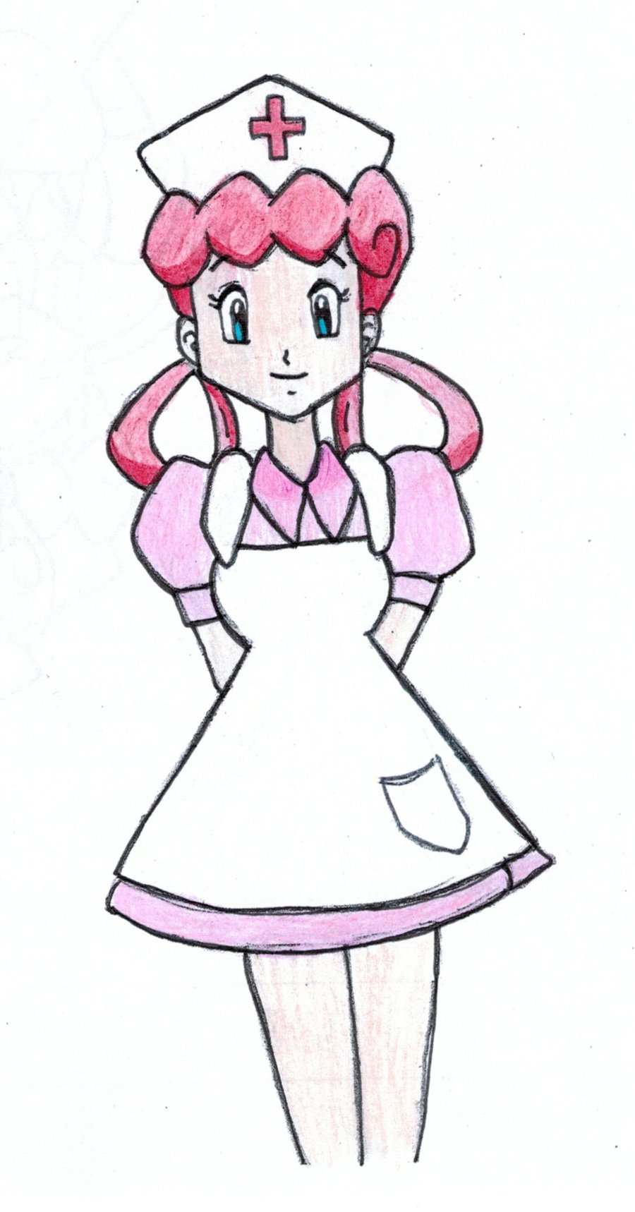900x1718 Nurse Joy By Salmonsuzie