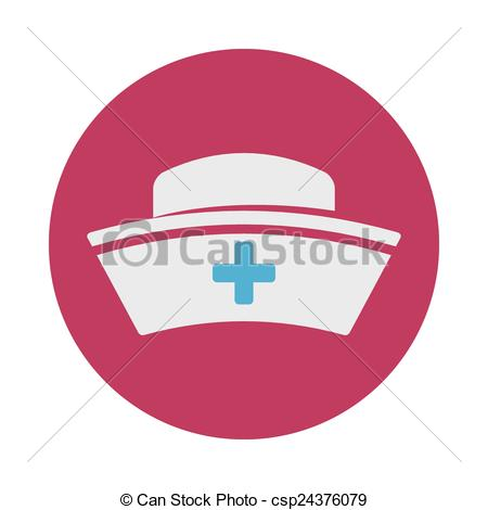 450x470 Nurse Hat Design, Vector Illustration Eps10 Graphic Vectors