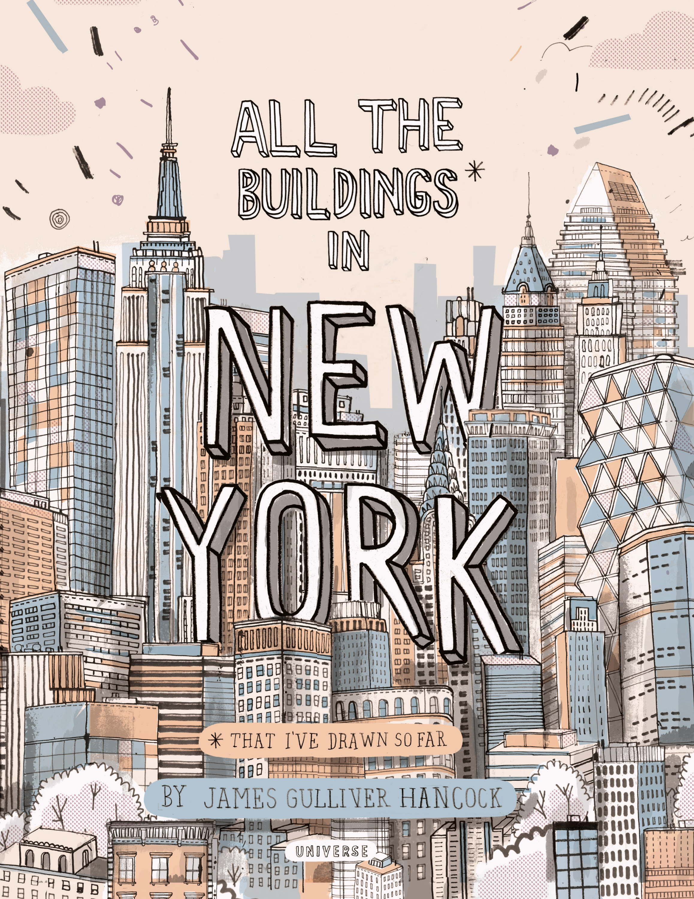 2317x3000 An Artist Is Attempting To Draw Every Single Building In New York