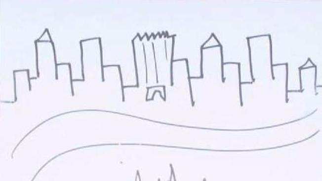 652x367 President Trump's Drawing Of Nyc Skyline Up For Auction
