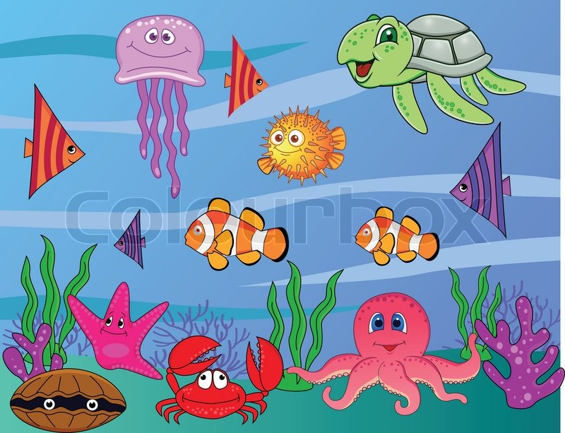 Ocean Cartoon Drawing at GetDrawings.com | Free for personal use ...