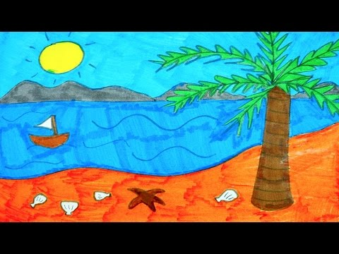 Ocean Drawing For Kids at GetDrawings.com | Free for personal use ...