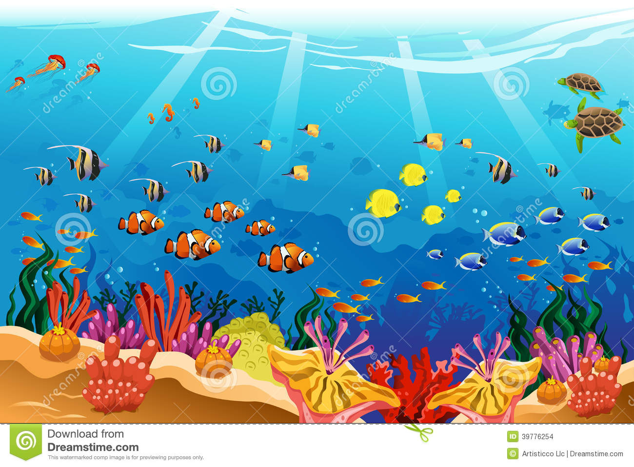 Ocean Drawing For Kids...