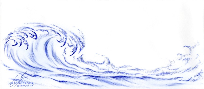 800x352 Stormy Waves By Sultzaberger