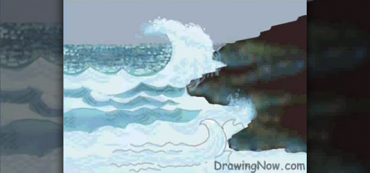Ocean With Pencil Drawing at GetDrawings | Free download