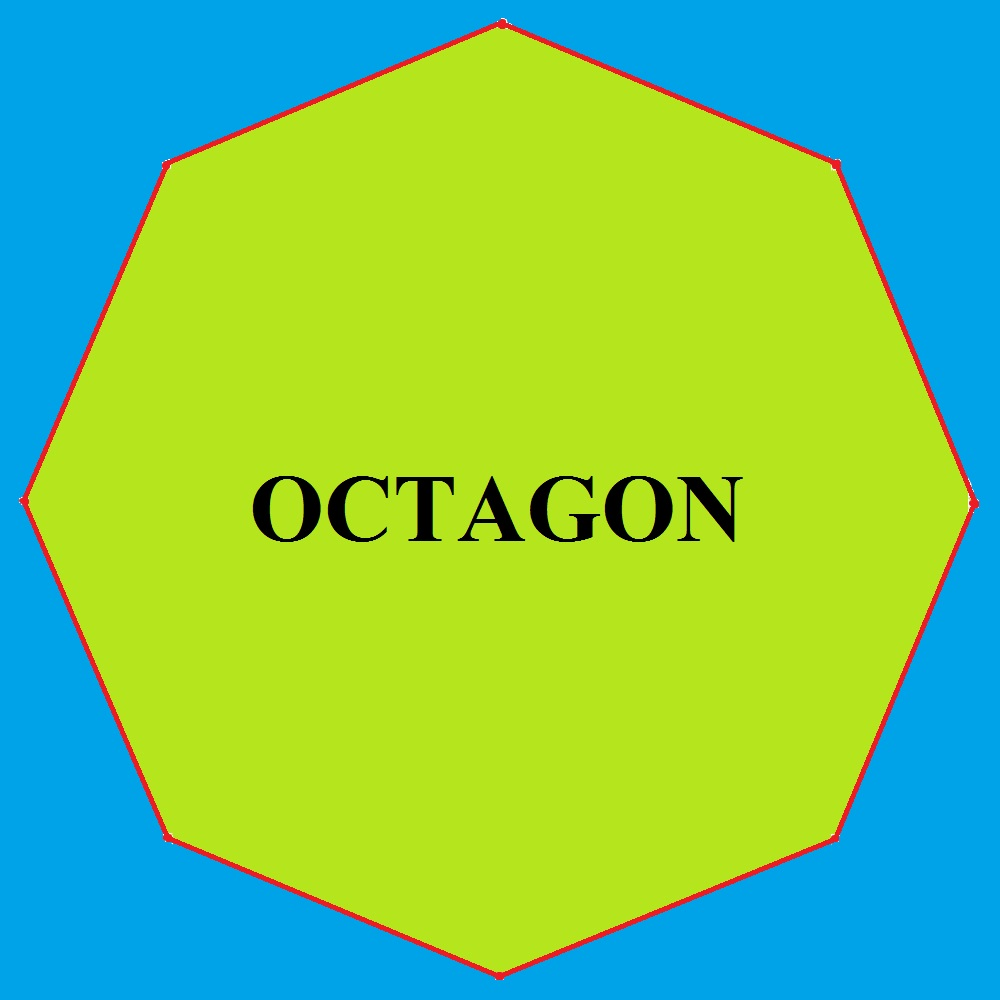 1000x1000 Mathematics How To Draw A Regular Polygon Octagon Using 360