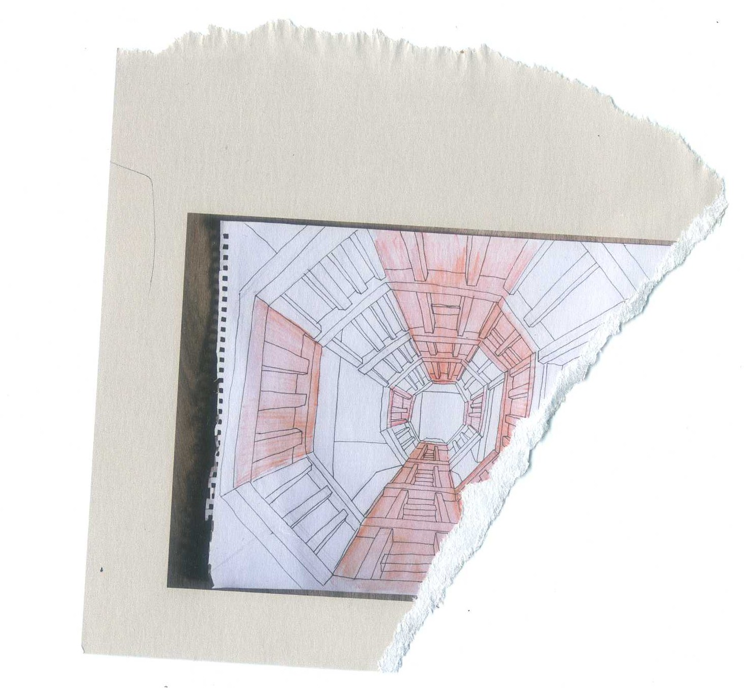 1461x1352 Octagon' Tunnel Drawing And Mapping