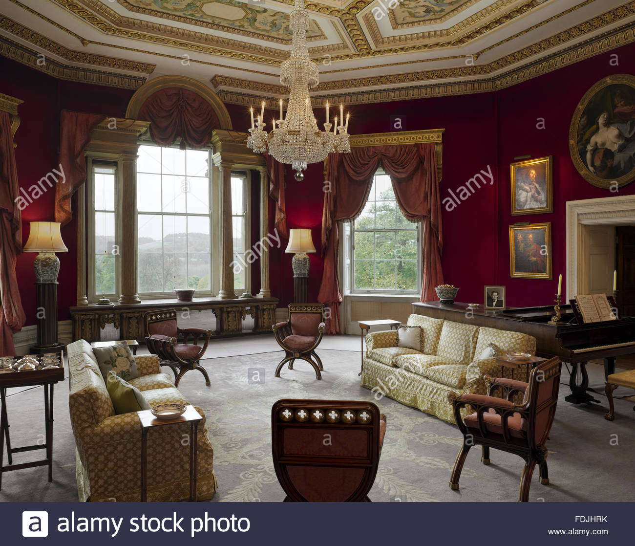 1300x1117 The Octagon Drawing Room