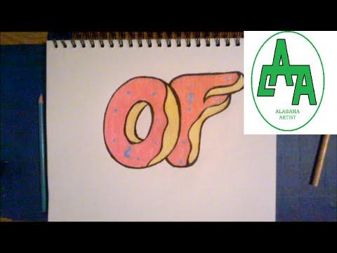 480x360 Drawing Odd Future Donuts