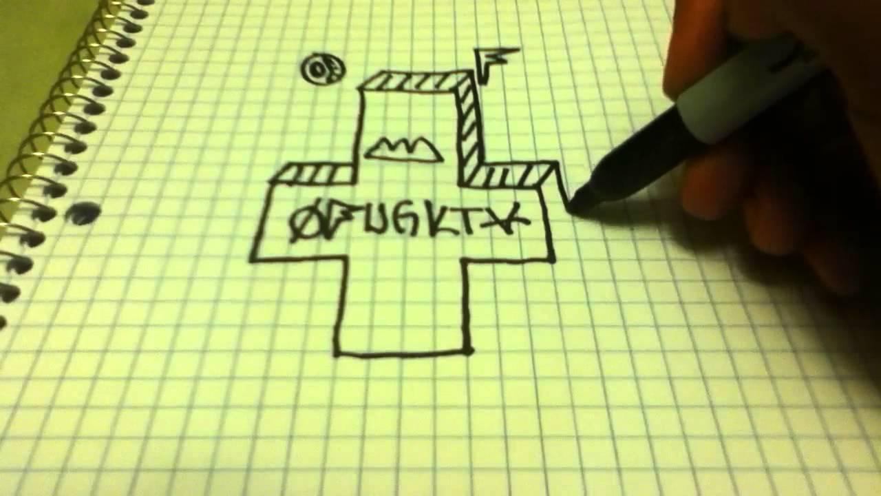 1280x720 Infinikiller666 How To Draw The Odd Future Cross