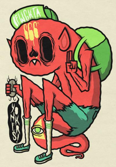 400x579 Odd Future Drawings