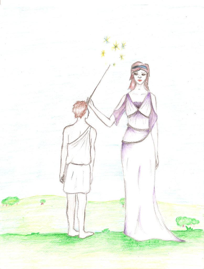 778x1027 Athena And Odysseus By Superfunkywerewolf