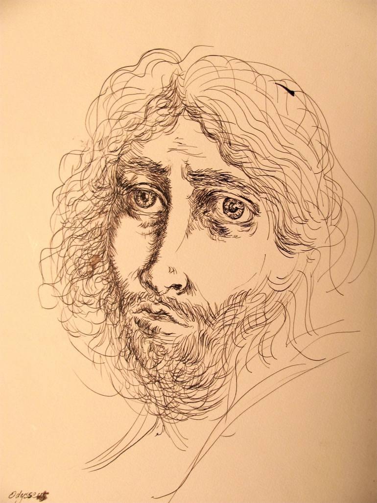 770x1027 Saatchi Art Odysseus Drawing By Francisco Benitez