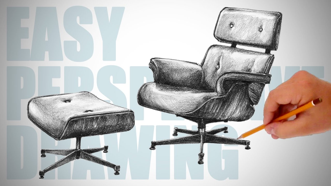 Office Chair Drawing At Getdrawings Com Free For