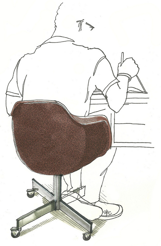 523x800 An Open [Sketch]book 5 Of 642 Things To Draw Desk Chair