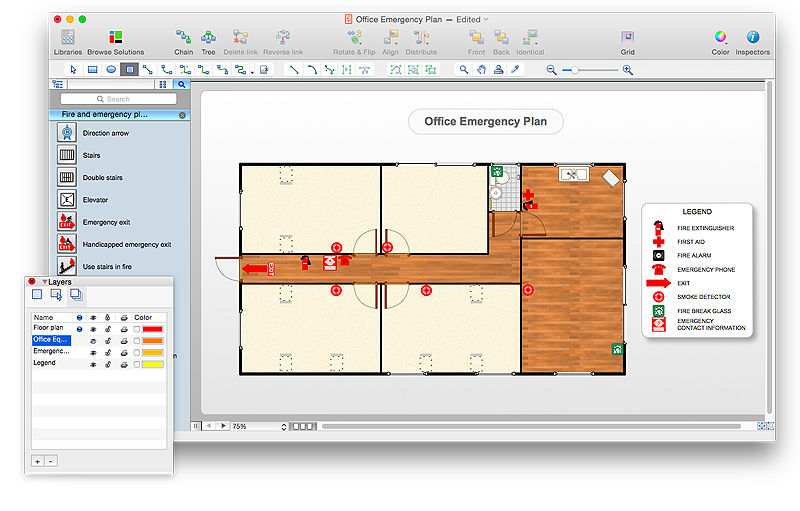800x511 How To Draw An Emergency Plan For Your Office Cubicle Layout