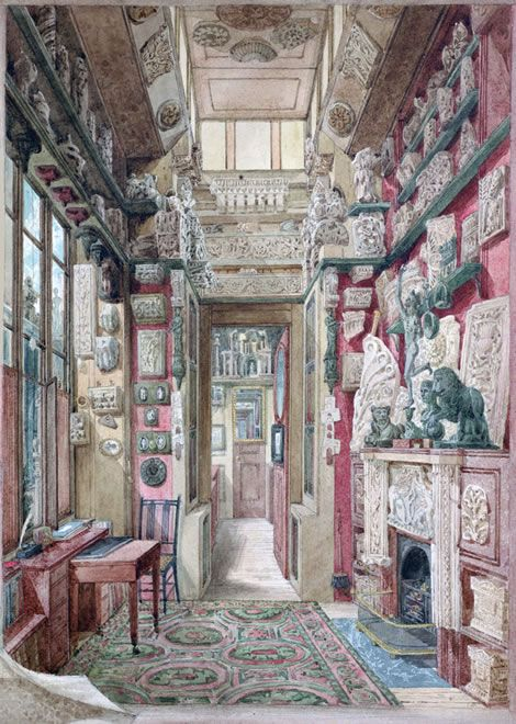 470x660 Architectural Drawings Working In Soane's Office
