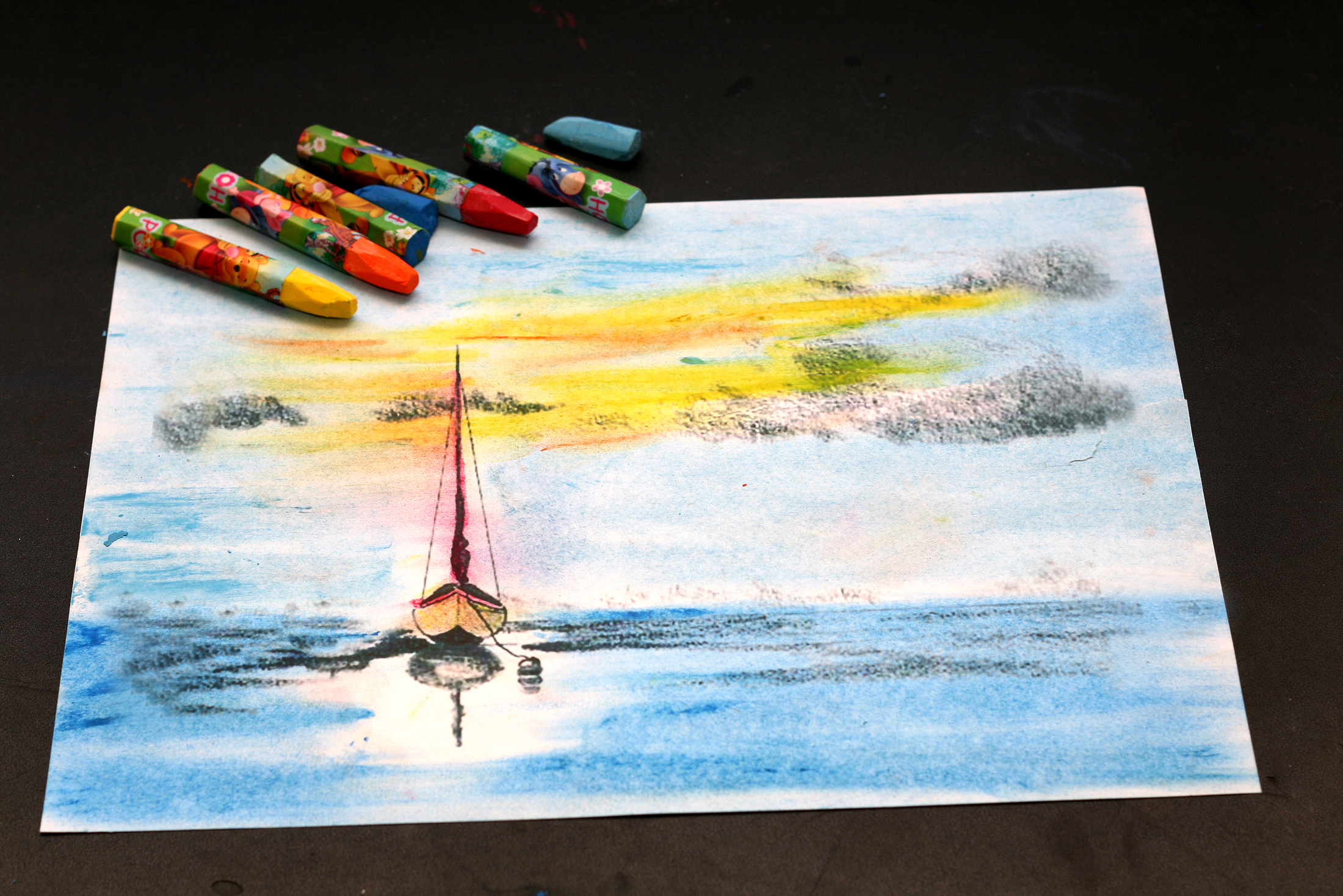 2200x1469 How To Draw With Oil Pastels 8 Steps (With Pictures)
