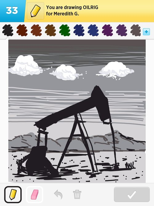 500x667 Oilrig Drawings