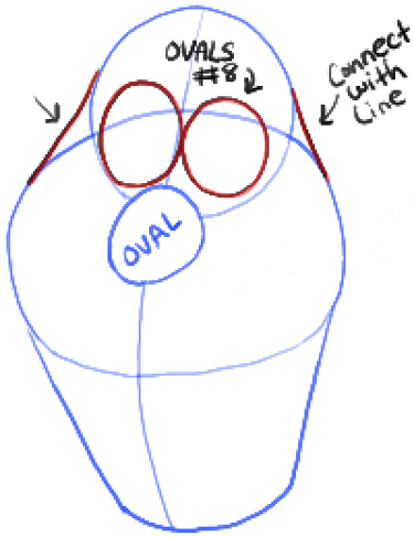 375x487 How To Draw Olaf The Snowman From Disneys Frozen Drawing Tutorial