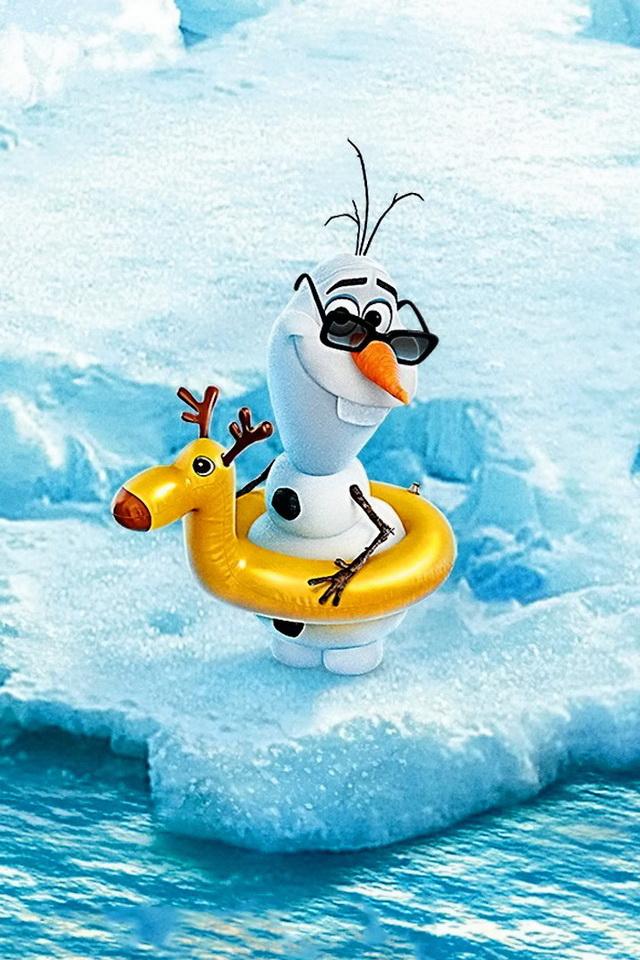640x960 Olaf Desktop Wallpaper