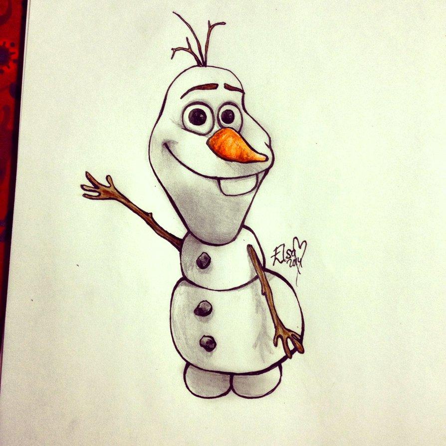 894x894 Olaf! By Missvajsing