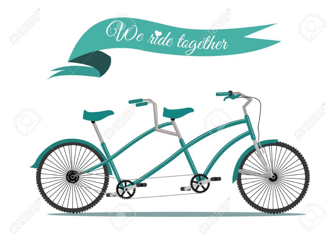 1300x949 Auto Blog Post Vintage Tandem Bicycle Drawing