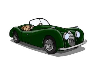300x200 How To Draw Old Cars