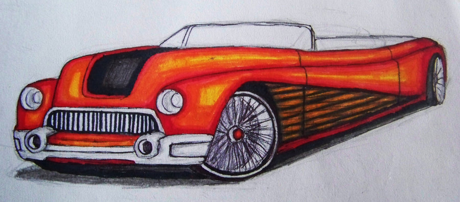 900x396 Some Old Car Drawing By Gynga