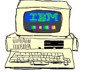 300x250 An Old Ibm Computer