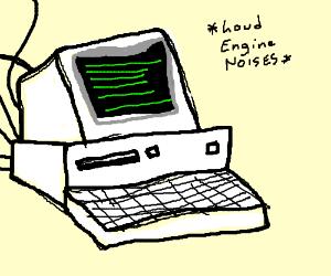 300x250 Old School Computer