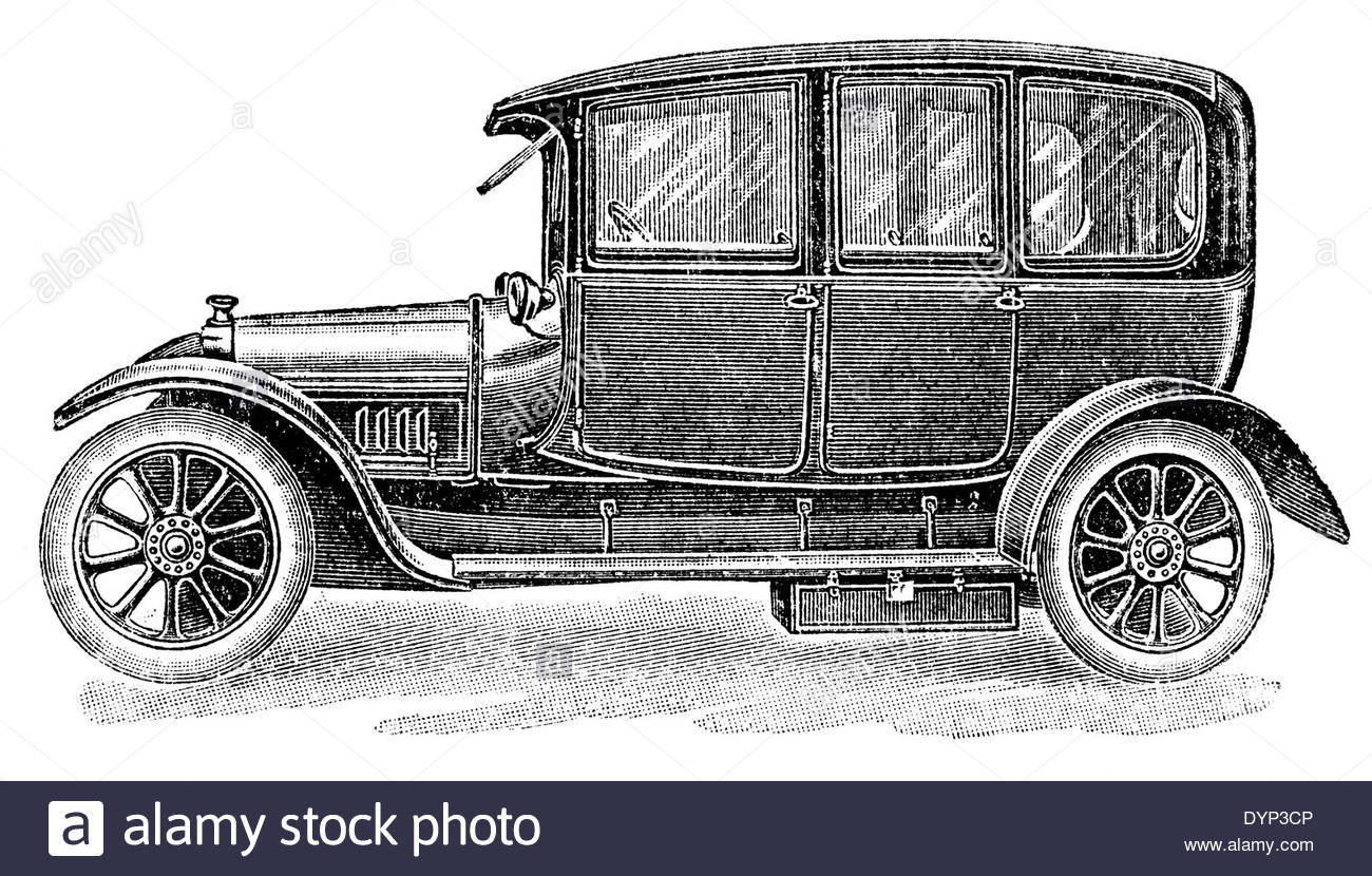 Old Fashioned Car Drawing at GetDrawings.com | Free for personal use ...