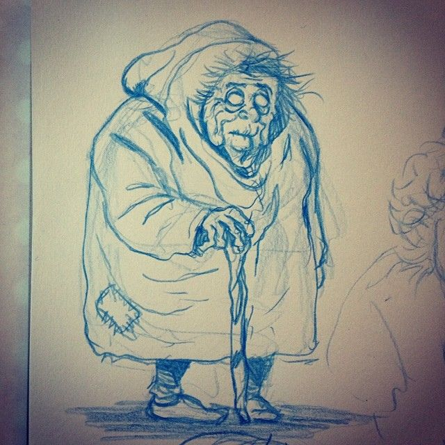 640x640 Evil Old Lady Cartoon Evil Old Lady.