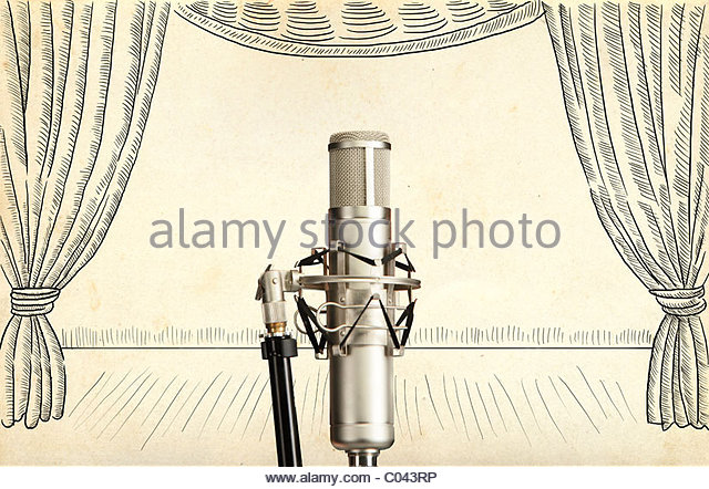 640x442 Old Microphone Stock Photos Amp Old Microphone Stock Images