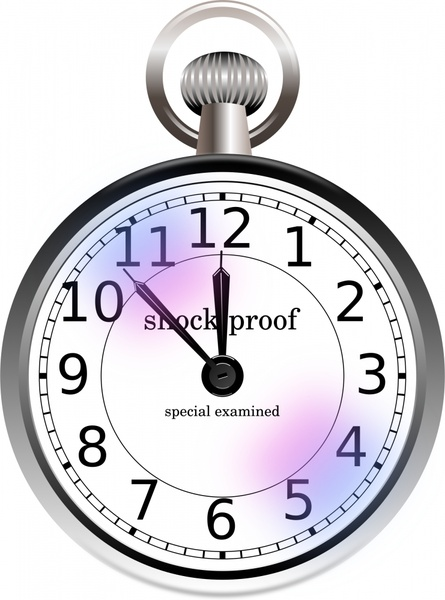 445x600 Old Pocket Watch Free Vector In Open Office Drawing Svg ( Svg