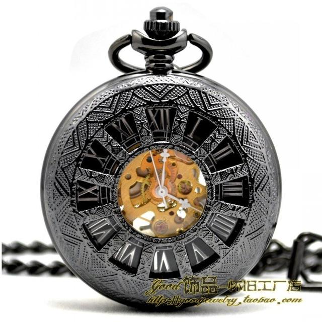 640x640 Tungsten Steel England 12 Hollow Retro Fashion Mechanical Watch