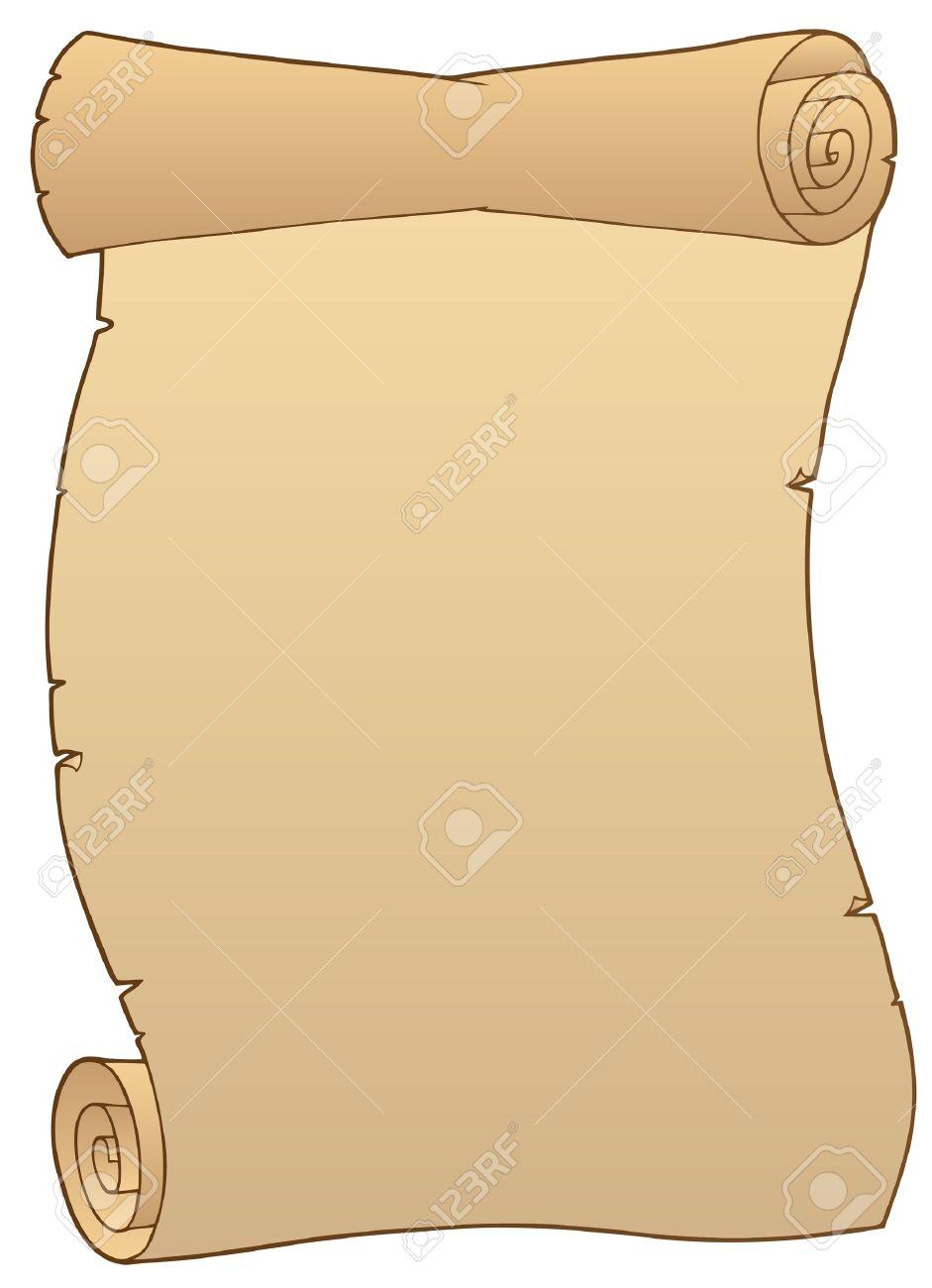 941x1300 Ancient Paper Scroll 2