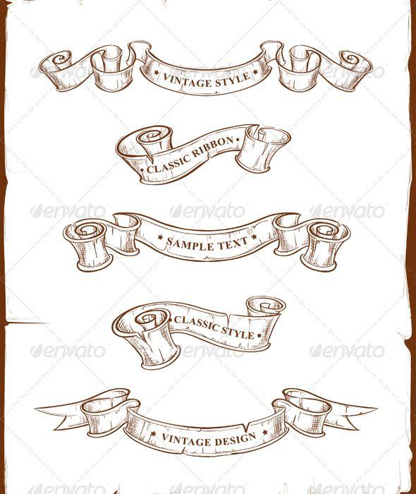 590x700 Drawn Scroll Old School