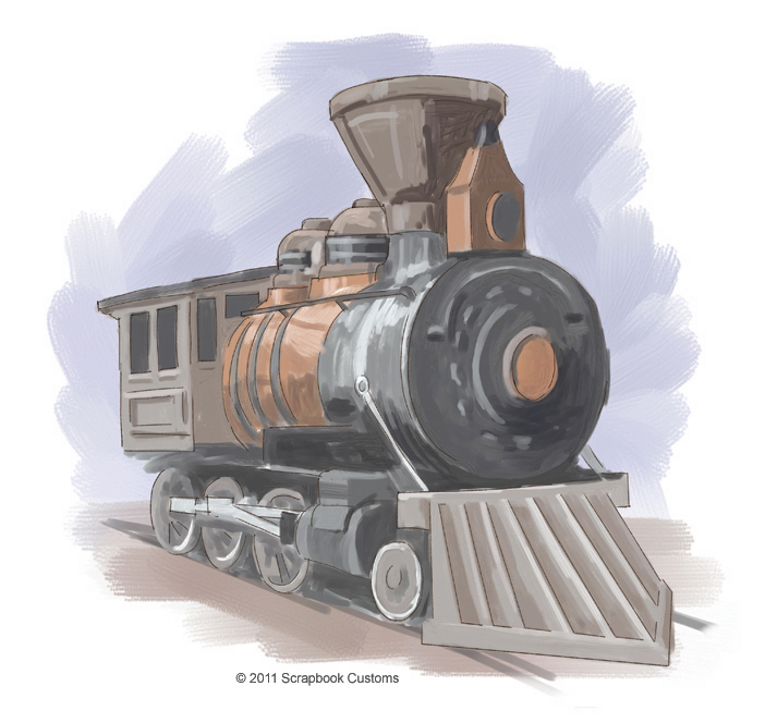Old train drawing at getdrawings free for personal use old 702x664 railroad art classic illustration graduation caps pinterest malvernweather Gallery