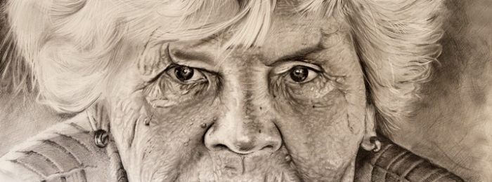 700x260 Head Of An Old Woman
