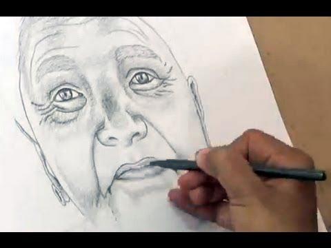 480x360 Women Portrait Drawing