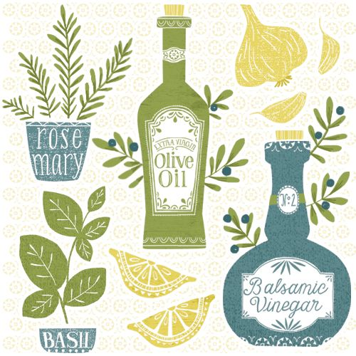 500x500 Olive Oil Illustration By Maeve Parker For 2015 Calendar. Www
