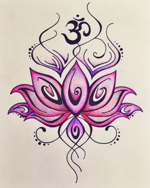 Om drawing at getdrawings free for personal use om drawing of 498x626 yogi39s journal lotus om and drawings mightylinksfo